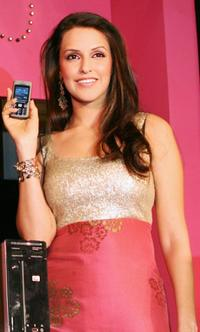 Neha Dhupia at the launch event in New Delhi.