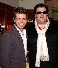 Matthew Lawrence and Jason Davis at the Hollywood Reporter Celebrate the Holidays with a Shopping party.