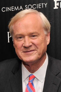 Chris Matthews at the New York screening of