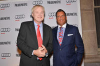 Chris Matthews and John Kushnir at the Philadelphia Style Magazine Cover Event.