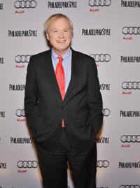 Chris Matthews at the Philadelphia Style Magazine Cover Event.