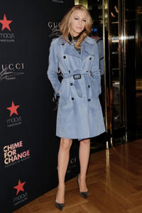 Blake Lively at the new Gucci campaign 'Chime For Change' in New York.