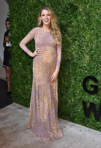 Blake Lively at the Golden Heart awards in New York.