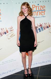 Ellary Porterfield at the New York premiere of