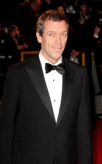 Hugh Laurie at the Orange British Academy Film Awards.