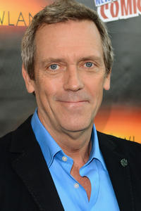 Hugh Laurie at New York Comic-Con for