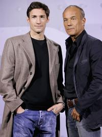 Benjamin Sadler and Heiner Lauterbach at the photocall of