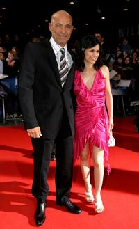 Heiner Lauterbach and his wife Viktoria Skaf at the ECHO 2004 German Music Awards.