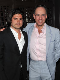 Andrew Levitas and Andrew Saffir at the after party for the screening of