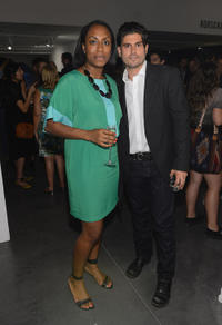 Tiana Webb Evans and Andrew Levitas at the