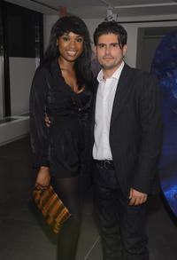 Jennifer Hudson and Andrew Levitas at the