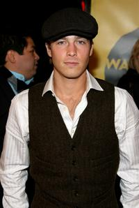Ryan Carnes at the premiere of