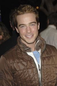 Ryan Carnes at the ABC Winter Press Tour All Star party.