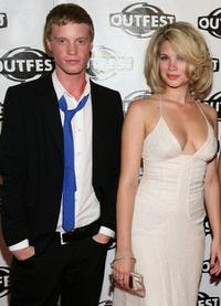 Daniel Skelton and Rebekah Kochan at the 2009 Outfest opening night gala of