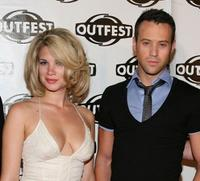 Rebekah Kochan and Michael Walker at the 2009 Outfest opening night gala of