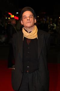 Denis Lavant at the BFI 51st London Film Festival premiere of