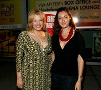 Judy Dixon and Julia Saint Paul at the world premiere of