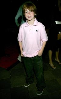 Trevor Heins at the after party of the New York premiere of