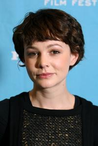 Carey Mulligan at the screening of