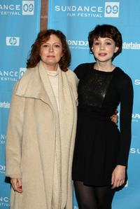 Susan Sarandon and Carey Mulligan at the screening of