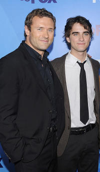 Jason O'Mara and Landon Liboiron at the 2011 Fox Upfront in New York.