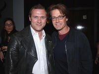 Jason O'Mara and Kyle MacLachlan at the Gersh Agency Celebration of Upfronts in New York.