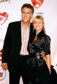 Christopher Lawford and Lana Antonova at the 2007 MusiCares Person of the Year honoring Don Henley.