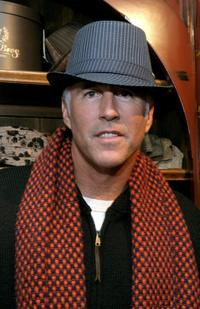 Christopher Lawford at the Gibson Guitar and Entertainment Tonight celebrity hospitality lodge.