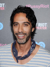 Carlos Leon at the New York screening of