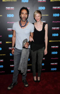 Carlos Leon and Bettina Holt at the New York screening of
