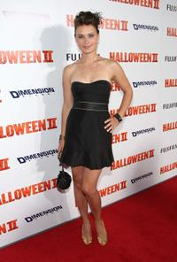 Kristina Klebe at the premiere of