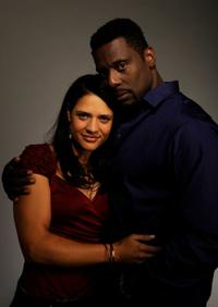 Monique Curnen and Eamonn Walker at the Tribeca Film Festival 2010.