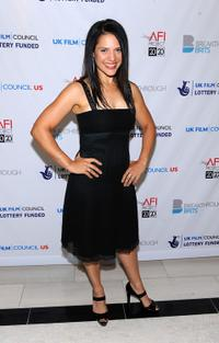 Monique Curnen at the Breakthrough Brit Week, Breakthrough Brits Gala Reception.