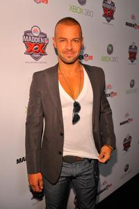 Joey Lawrence at the Madden NFL 09 premiere party.