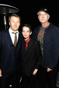 Joel Edgerton, Kodi Smit-McPhee and Andy McPhee at the Australians in Film's 2011 Breakthrough Awards.