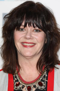 Josie Lawrence at the Writers' Guild Awards in London.