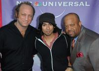 Scott Krinsky, Vik Sahay and Mark Christopher Lawrence at the NBC Universal's 2010 TCA Summer party.