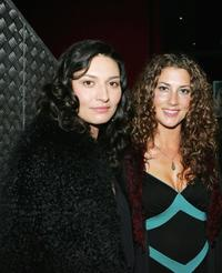Mia Blake and Justine Naufahu at the Air New Zealand Screen Awards.
