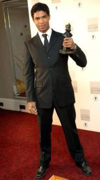 Carlos Acosta at the Lawrence Olivier Theatre Awards.