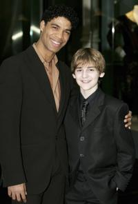 Carlos Acosta and Leon Cooke at the Critics Circle National Dance Awards 2005.