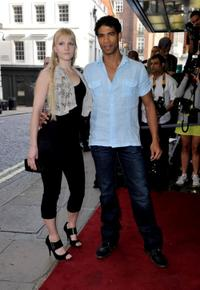 Charlotte Holland and Carlos Acosta at the British premiere of