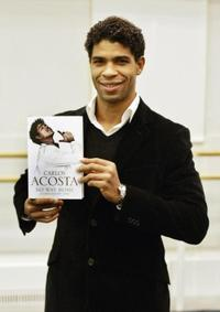 Carlos Acosta at the private launch of his new book