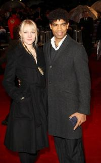 Carlos Acosta and Guest at the UK premiere of