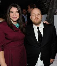 Stephanie Meyer and David Slade at the after party of the premiere of