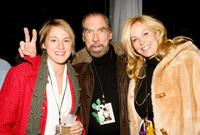 John Paul DeJoria, Eloise DeJoria and Guest at the