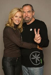 John Paul DeJoria and Eloise DeJoria at the Miners Club during the 2008 Sundance Film Festival.