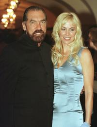 John Paul DeJoria and Eloise DeJoria at the White House for a state dinner.