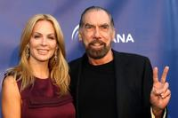 Eloise DeJoria and Paul Mitchell at the Annual Oceana Partner's Awards Gala.