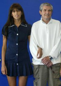 Maiwenn Le Besco and Claude Lelouch at the photocall of
