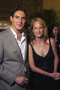 Mark Umbers and Helen Hunt at the